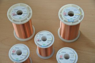 Çin Polyurethane Enameled Ultra Fine Magnet Wire 0.012 - 0.40mm For Automotive Fabrika