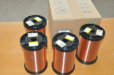 Çin Polyurethane Super Fine Enameled Round Copper Wire Class 130 - 180 For Transformers Fabrika