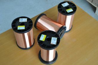 Çin Polyester Amide Imide Enamelled Copper Wire Thermal Class 200℃ For Small Generators Fabrika