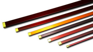 Çin Rectangular / Flat Copper Wire , Multi Sizes Round Enamel Insulated Wire Fabrika