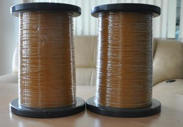 Çin 0.16 - 1.0mm Self Solderable TIW Wire , High Voltage Copper Wire For Memory Fabrika