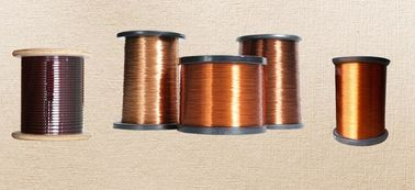 Çin AIW / EIW / UEW 0.012mm Copper Wire Rectangular Enameled Magnet Wire Fabrika