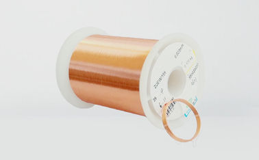 20 - 56 AWG Varnished Copper Wire , 0.4mm - 0.8mm Red / Blue Copper Enameled Wire