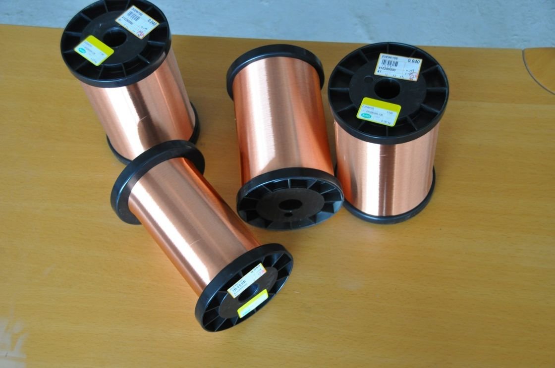 Polyurethane Enameled Round Copper Wire 1UEW With High Electrical Conductivity Tedarikçi