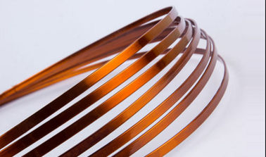 Super Thin Flat Transformer Copper Wire Solderability 0.8 - 5.6mm High Solvent Resistance