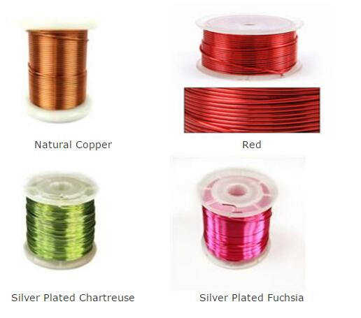 Colored Super Thin Enamel Coated Copper Wire Extreme Size 0.012 / 0.013mm Available